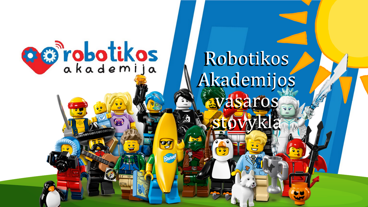 Nuo rugsėjo mėnesio Robotikos akademijos būrelis.