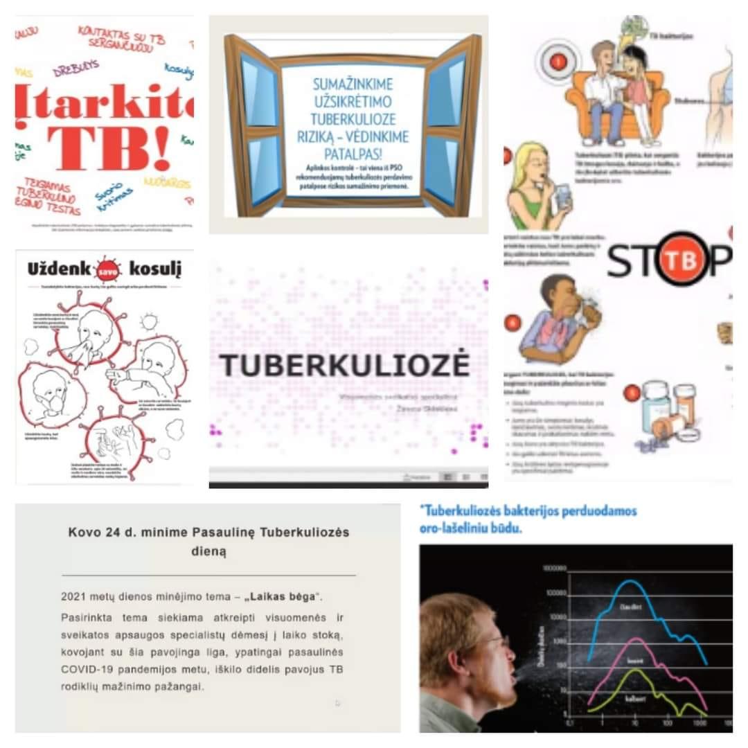 Devintokams apie tuberkuliozę