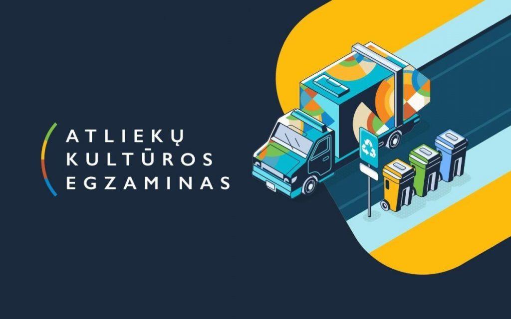 """""""Atliekų kultūros"""" egzaminas 2021"""