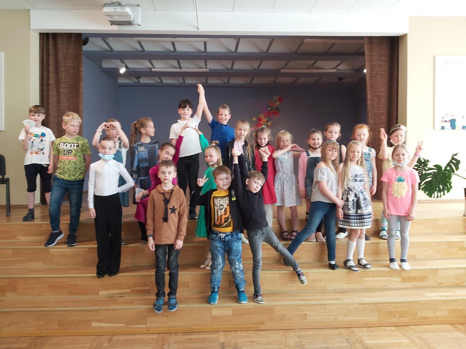 Talentų šou 1b klasėje